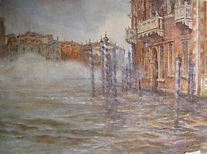 002 Венеция. Туман