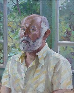 006 Портрет Иванова В.Д. на даче