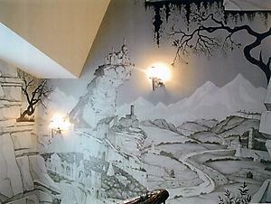 006 Руины. Роспись стен
