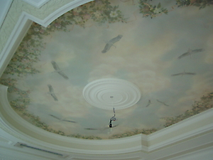039 Роспись потолка